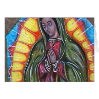 mary1 greeting card