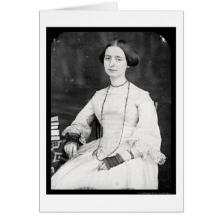 Mary A. Bartlett Daguerreotype 1853 Card