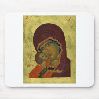 Mary And Baby Jesus Mouse Pad