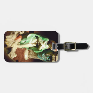 Mary and Baby Jesus Travel Bag Tag