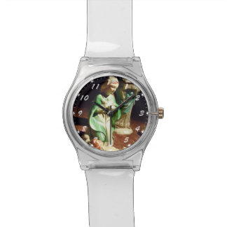 Mary and Baby Jesus Wristwatches
