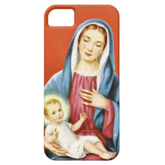 Mary and Jesus iPhone 5 Cases