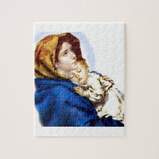 Mary and Jesus Jigsaw Puzzle
