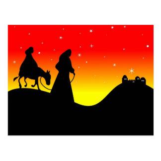 Mary and Joseph Postcard