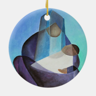 Mary and Messiah Christmas Ornament