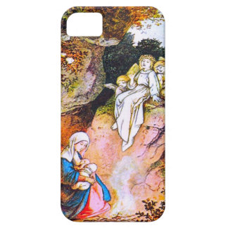Mary and the angel iPhone 5 cover