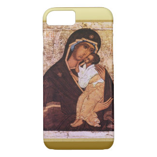 Mary and the baby Jesus iPhone 8/7 Case