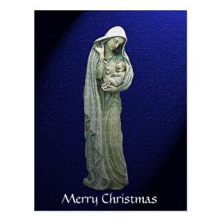 Mary and the Christ Child Christmas Postcard