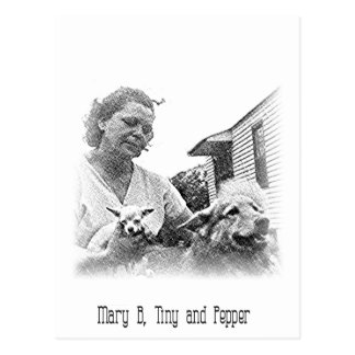Mary B Postcard