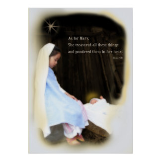 Mary-Baby Poster