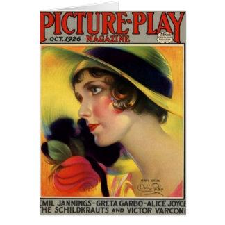Mary Brian Vintage 1926 Movie Magazine Card