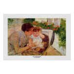 Mary Cassatt.1881.Susan Comforting the Baby print