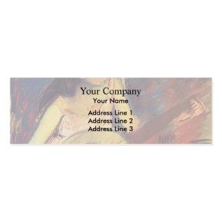 Mary Cassatt- Girl with a Banjo Business Card