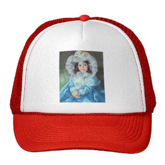 Mary Cassatt: Margot in Blue Mesh Hats