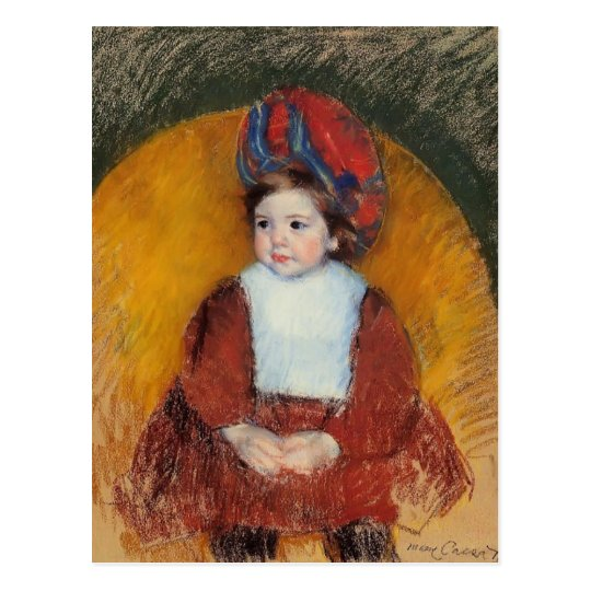 Mary Cassatt: Margot Postcard