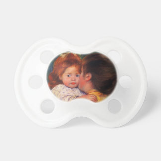 Mary Cassatt- Maternal Kiss Baby Pacifiers