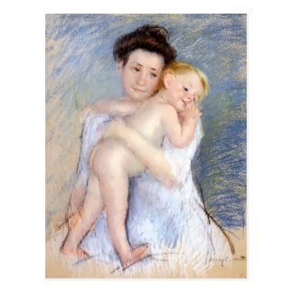 Mary Cassatt: Maternal Tenderness Postcard