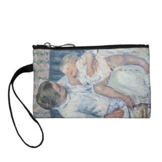 Mary Cassatt Mother About to Wash Her Sleepy Child Change Purses