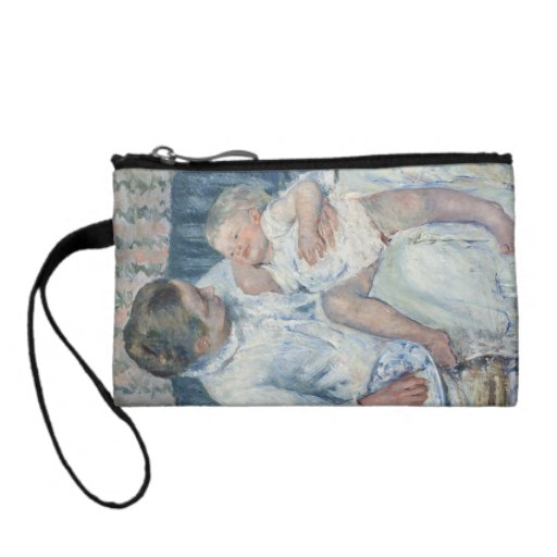 Mary Cassatt Mother About to Wash Her Sleepy Child Coin Purse