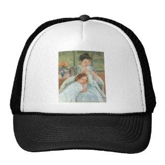 Mary Cassatt Painting Cap