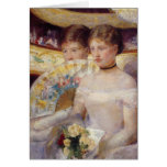 Mary Cassatt Painting Greeting Card