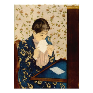 Mary Cassatt s The Letter circa 1891 Flyers