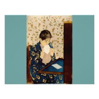 Mary Cassatt s The Letter circa 1891 Full Color Flyer