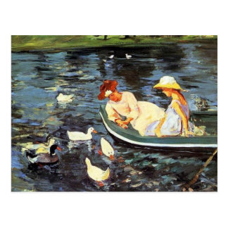 Mary Cassatt. Summertime Postcard
