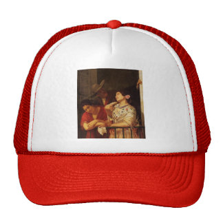 Mary Cassatt- The Flirtation A Balcony in Seville Trucker Hat