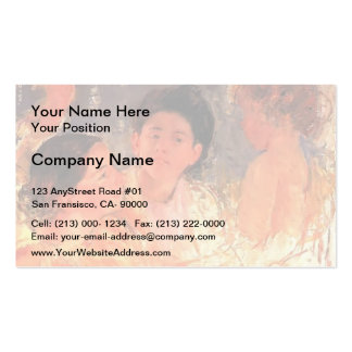 Mary Cassatt- Two Young Girls with a Child Pack Of Standard Business Cards