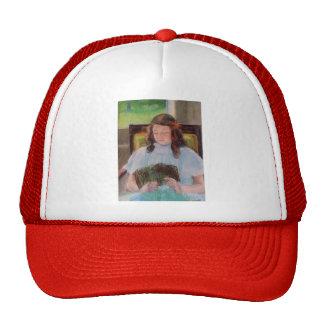 Mary Cassatt: Young Girl Reading Mesh Hats