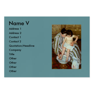 Mary Cassatt's The Child's Bath (circa 1892) Pack Of Chubby Business Cards