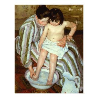 Mary Cassatt's The Child's Bath (circa 1892) Flyer