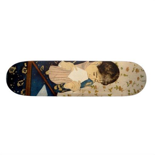 Mary Cassatt's The Letter (circa 1891) Skate Decks