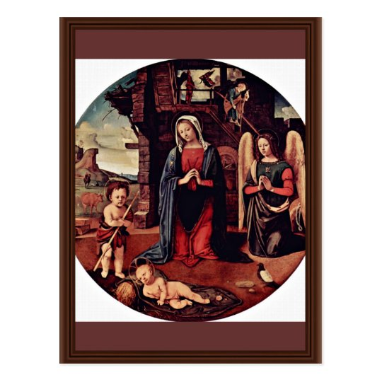 Mary Christ Child St. John The Baptist Kneeling