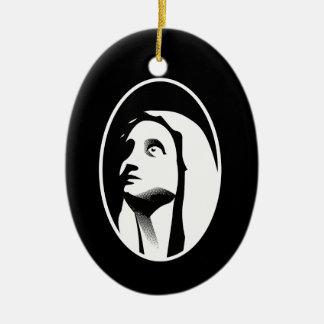 Mary Christmas Ornament