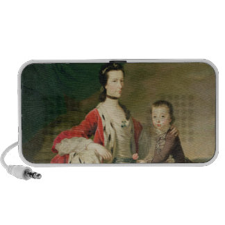 Mary, Countess of Shaftsbury and her Son PC Speakers