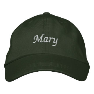 Mary Embroidered Hats