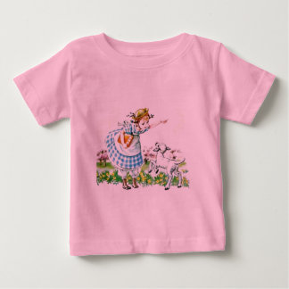 Mary Had a Little Lamb Infant T-Shirt