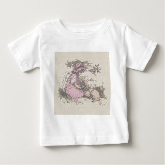 Mary Had a Little Lamb Nursery Rhyme T-shirt
