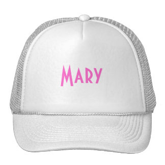 Mary Trucker Hats