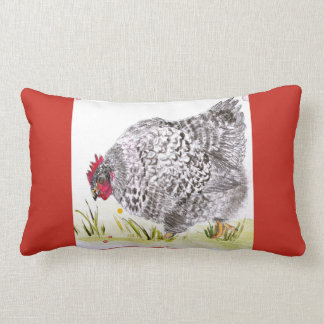 Mary Hen chicken pillow