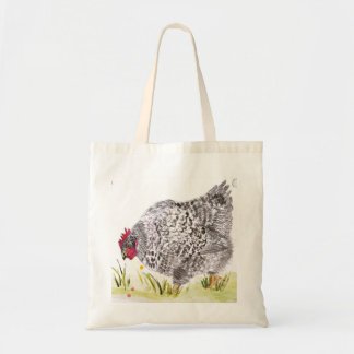 Mary Hen chicken shopping bag