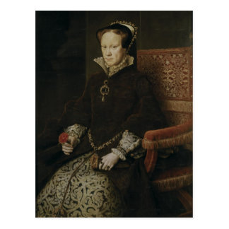 Mary I of England Post Card