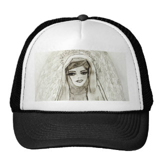 Mary In The Grotto Cap