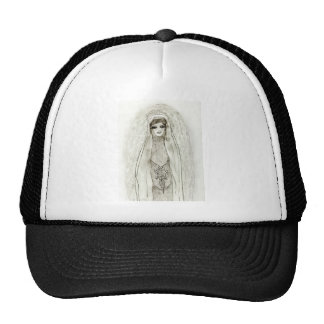 Mary In The Grotto Mesh Hats