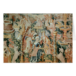 Mary in the Temple, Scenes from Life of the Card