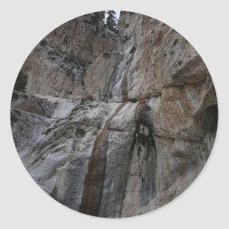 Mary Jane Falls Mount Charleston NV Classic Round Sticker