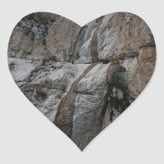 Mary Jane Falls Mount Charleston NV Heart Sticker