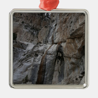 Mary Jane Falls Mount Charleston NV Silver-Colored Square Decoration